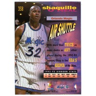 SHAQUILLE O'NEAL 1993-94 Stadium Club Frequent Flyer Upgrades Insert Card 93/94