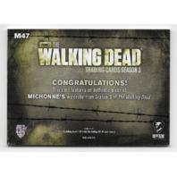 Danai Gurira Michonne 2014 Cryptozoic Walking Dead season 3 Wardrobe Card M47