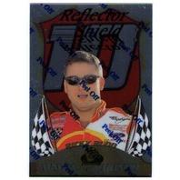 RICKY RUDD 1999 Premium Badge of Honor Reflector Shield Card NASCAR BV$20 (x)