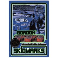 JEFF GORDON 2005 Press Pass Eclipse SKIDMARKS Race Used Tire Rubber Card