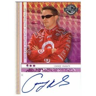 CASEY MEARS 2003 Wheels Autograph Signed Auto On Card Racing NASCAR Target