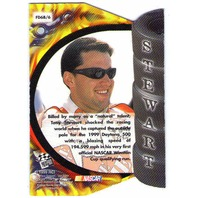 TONY STEWART 1999 Press Pass Premium Burning Desire Sprint Cup Chase Card BV$12  (X)