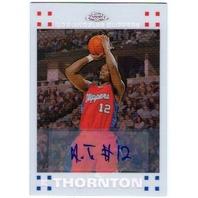 AL THORNTON Topps Chrome White Refractor Rookie Autograph Auto Card 7/10
