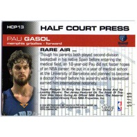 PAU GASOL 2006-07 Topps Full Court Half Court Press Relics Jersey Card 59/99