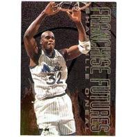 SHAQUILLE O'NEAL 1995-96 Fleer Franchise Futures #7 Insert Card 95/96 BV$12