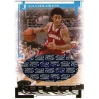JOSH CHILDRESS 2005 SAGE HIT Autograph Gold Reflections Auto 18/50 Card