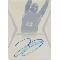 JOHN JENKINS 2012-13 Leaf Ultimate Printing Plate 1/1 Autograph Auto On Card