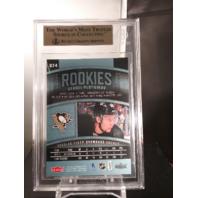 Sergei Plotnikov 2015 Fleer Showcase Ultra Rookies Violet Medallion /25 BGS 9.5