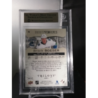 Brock Boeser 2017-18 Upper Deck Trilogy Rookie Premiere /999 RC BGS 9.5 GEM MINT