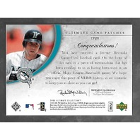 JEREMY HERMIDA 2006 Upper Deck Ultimate Collection Game Patches 4 color patch/50
