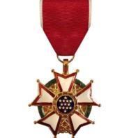 Vanguard Full Size Legion of Merit Military Medal Award (LOM)- 24K Gold Plated
