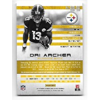 DRI ARCHER 2014 Rookies & Stars Longevity Team Logo RC Auto /32 R&S Steelers