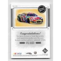 Kyle Busch NASCAR 201 Press Pass Total Memorabilia /25 firesuit sheet metal glove hat  (x)