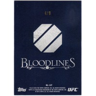 TEIXEIRA GLOVER 2013 Topps UFC Bloodlines Red Parallel #BL-GT  4/8