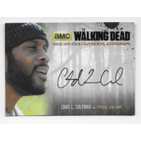 Tyreese Williams 2016 Cryptozoic Walking Dead season 4 auto Card CLC2 Autograph  (x)