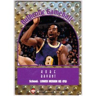 KOBE BRYANT 1999 Collector's Edge Rookie Rage Used Game Ball Card LA Lakers #KB4