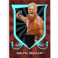 DOLPH ZIGGLER 2011 Topps Classic WWE Relics #5 Event-Worn T-Shirt Card  (x)