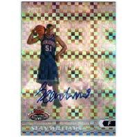 SEAN WILLIAMS 2007-08 Stadium Club Chrome X-Fractor Rookie Autograph Auto Card