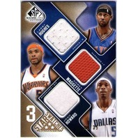 HUGHES MAGGETTE HOWARD 2009-10 SP Game Used 3 Star Swatches Jersey 1/35 Card
