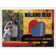 Sarah Wayne Callies Lori Grimes 2011 Cryptozoic Walking Dead Wardrobe Card M3
