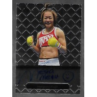 MEGUMI FUJII 2011 Leaf MMA Metal Authentic Signature auto autograph GAMF1 UFC a   (x)