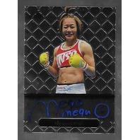 MEGUMI FUJII 2011 Leaf MMA Metal Authentic Signature auto autograph GAMF1 UFC b  (x)