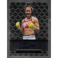 MEGUMI FUJII 2011 Leaf MMA Metal Authentic Signature auto autograph GAMF1 UFC e   (x)