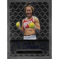 MEGUMI FUJII 2011 Leaf MMA Metal Authentic Signature auto autograph GAMF1 UFC f   (x)