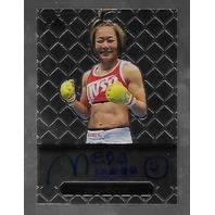 MEGUMI FUJII 2011 Leaf MMA Metal Authentic Signature auto autograph GAMF1 UFC g   (x)