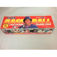 1989 Fleer Baseball Factory Set Sealed
