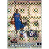 RODNEY STUCKEY 2007-08 Stadium Club Chrome X-Fractor Rookie Autograph Auto Card