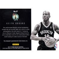 KEITH BOGANS 2013-14 13/14 Prestige Bonus Shots Green Autograph 1/5 Auto Card