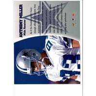 1997 Leaf Authentic Signatures 8x10 Card Anthony Miller Dallas Cowboys Auto