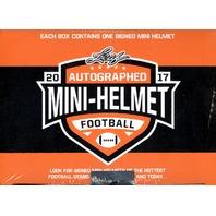 16 Spot 2017 Leaf Mini Helmet Football Break