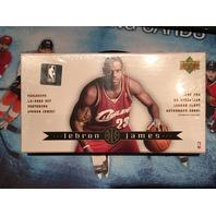 Lebron James 2003 Upper Deck 32 Card Rookie Box Set (unsealed)