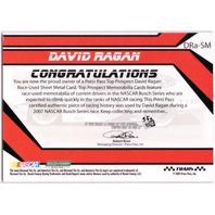 DAVID RAGAN 2007 Press Pass Top Prospect Race Used Sheet Metal Rookie Card /350