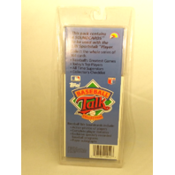 1989 Topps Baseball Talk Collection Set 26 Soundcards NIP NOS Brock Gibson