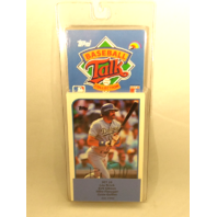 1989 Topps Baseball Talk Collection Set 26 Soundcards NIP NOS Brock Gibson