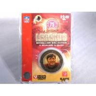 BILLY KILMER Washington Redskins Legends 2007 Collectible Medallion Coin