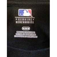MLB Genuine Baltimore Orioles Black Graphic T-Shirt Size M Medium Baseball