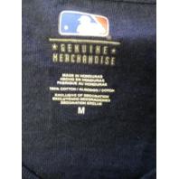 MLB Genuine Boston Red Sox Navy Blue Graphic T-Shirt Men's Size M Baseball
