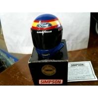Brett Bodine Simpson Mini Helmet Lowe's Goodyear Signature Edition NASCAR NIB