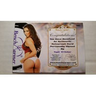 SYD WILDER 2014 Bench Warmer Vegas Baby Autograph Auto On Card