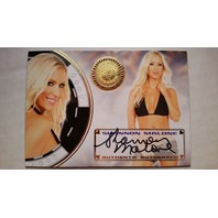 Shannon Malone 2014 Bench Warmer Vegas Baby Autograph Auto On Card Playboy