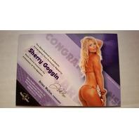 Sherry Goggin 2013 Bench Warmer Hobby Autograph Auto on Card #23