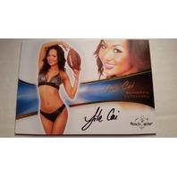 Jile Cai 2012 Bench Warmer Bubble Gum Autograph Auto on Card #23
