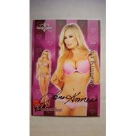 Lana Kinnear 2014 Bench Warmer Valentine's Day Autograph Auto On Card Playboy