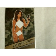 Kathryn Smith 2013 Bench Warmer Hobby Boot Camp Gold Foil #8 Model 63/99
