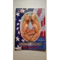 The Costello Twins 2002 Bench Warmer All-American Chromium #14 Playboy Playmates