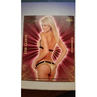 Lisa Gleave 2007 Bench Warmer Gold Jumbo Box-Toppers Autographs Auto #1 Maxim